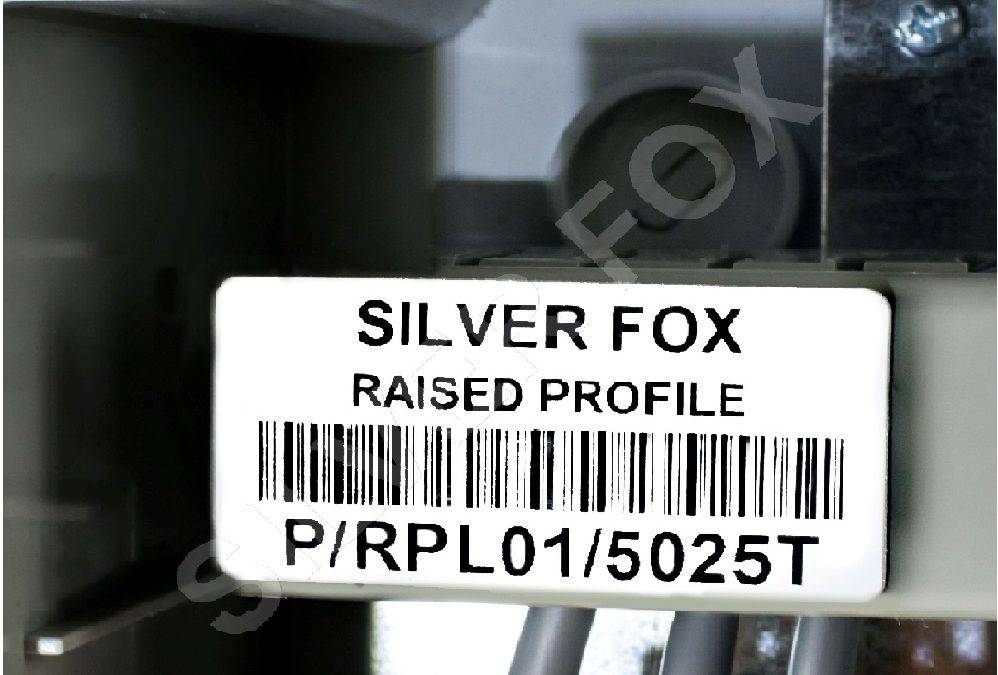 Silver Fox Unveils Raised Profile Labels at Middle East Rail 2017