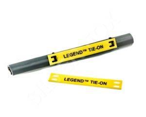 legend tie-on on wire