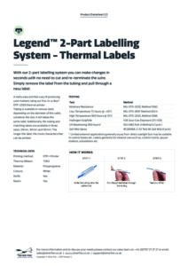 2019 Legend 2-Part Labelling System – Thermalv2