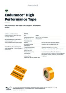 2020 Endurance High Performance Tape Thermal v2