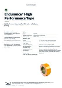 2020 Endurance High Performance Tape Thermalv3