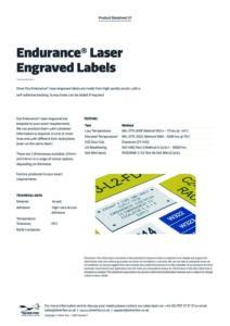 2020 Endurance Laser Engraved Labelsv1