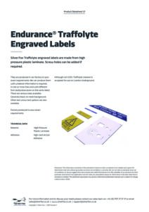 2020 Endurance Traffolyte Engraved Labelsv1
