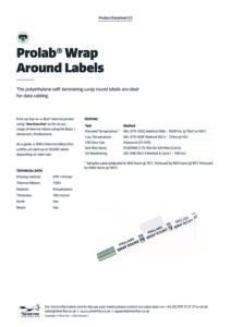 2020 Prolab Wrap Around labels Thermalv1