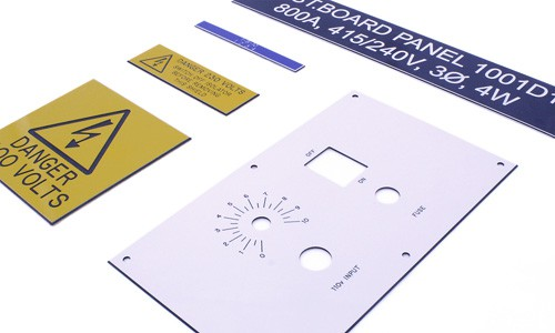 Traffolyte Engraved Labels