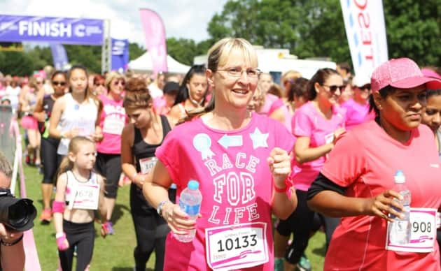 Race for Life New Personal Best