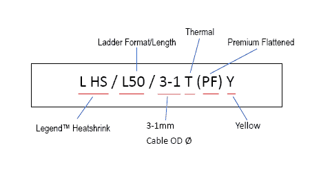 Ladder Heatshrink (Premium)