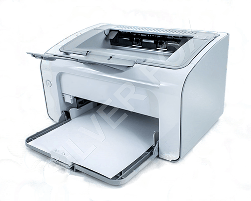 Print labels with a normal laser printer