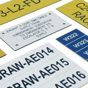 Laser Engraved Labels