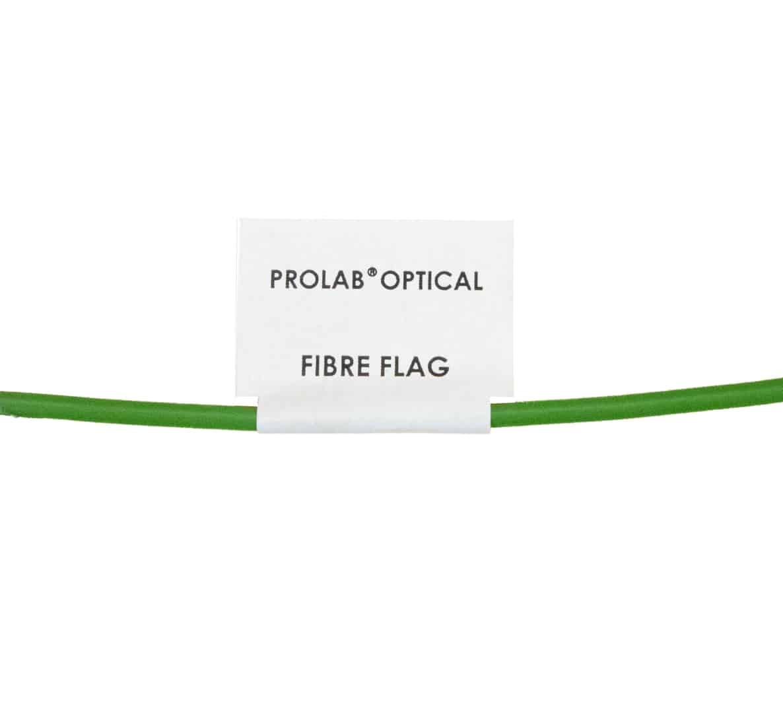 Optical Fibre Flag Labels