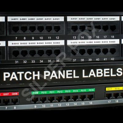 Prolab® Patch Panel Labels