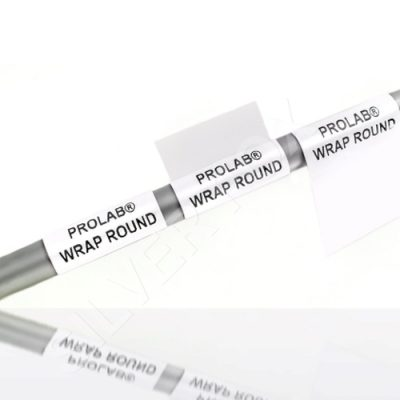 Prolab® Wrap Around Self Laminating Cable Labels
