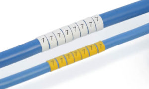 Legend™ LHS3-1T Heatshrink Markers – Small OD ø 1-3mm 1