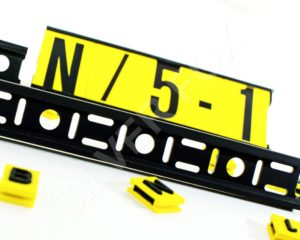 Endurance® Modular ID System 17mm Mounting Strips.