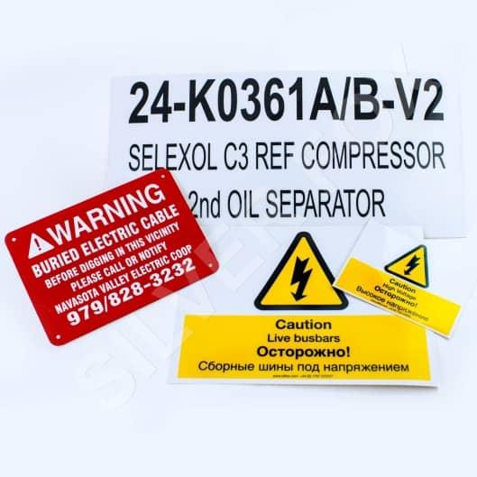 Warning Tape / Labels