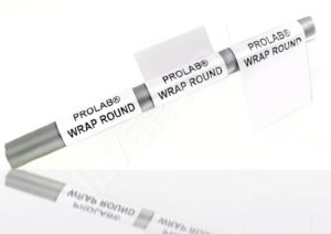Prolab® Thermal Self-laminating wrap-around labels print area 25mm x 19mm